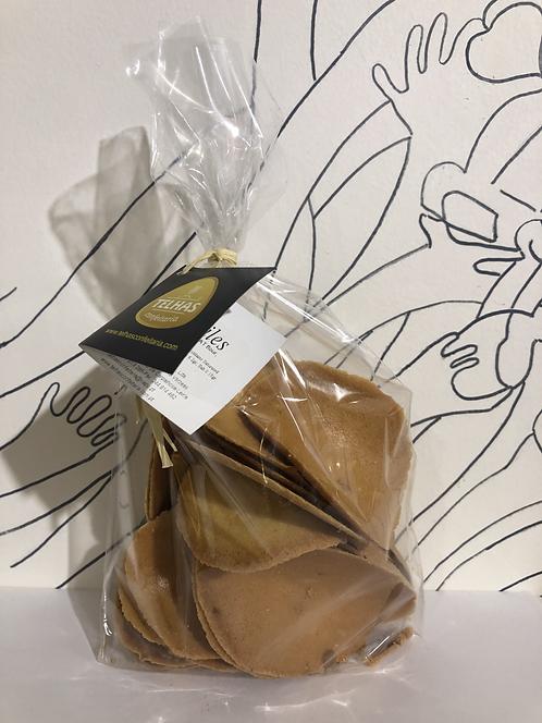 Telhas biscuits - Almond