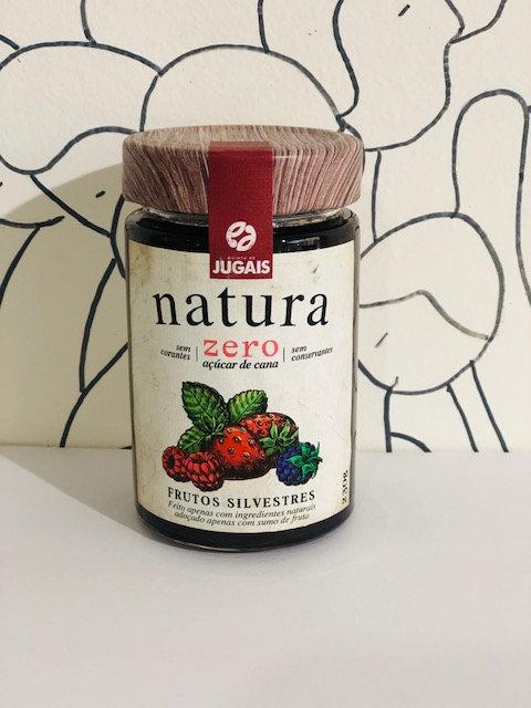 Natura Forest fruit jam - Zero sugar
