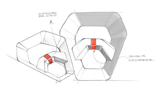Diseño pala de padel