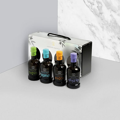 Packaging aceites Club del Gourmet
