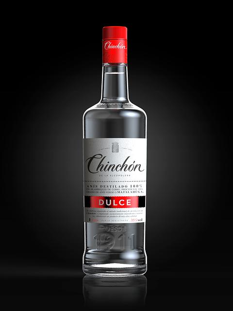 botella anís Chinchón