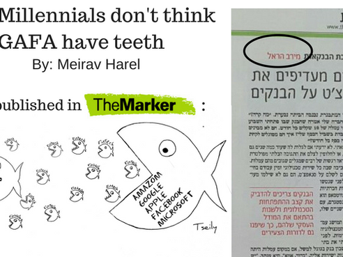 Why Millennials don't think GAFA have teeth