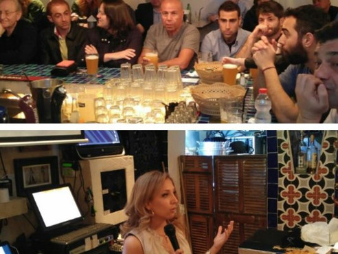 """Enjoyed speaking at """"Entrepreneurs on tap"""" in Tel-Aviv"""