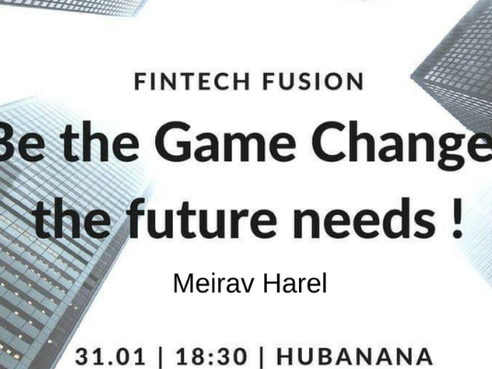 Fintech Fusion - The Past, the Present and the Future of the Financial Disruption - Meetup