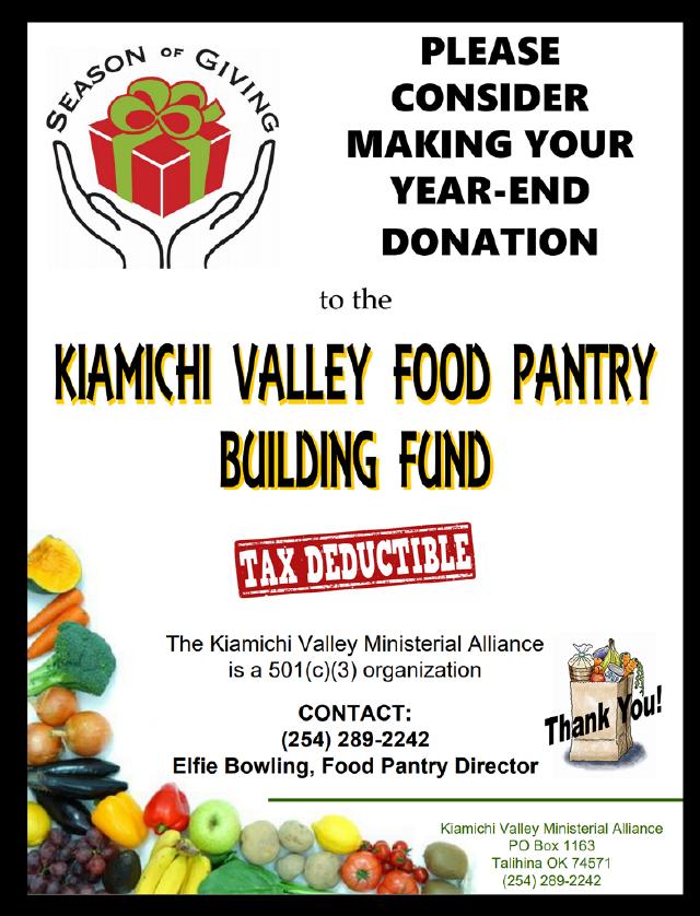 Kiamichi Valley Food Pantry