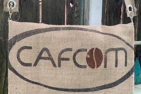 crossbody coffee bean gunny sack messenger bag
