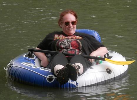 Float the Kiamichi River @ Gibby's Biker Camp in Big Cedar, OK