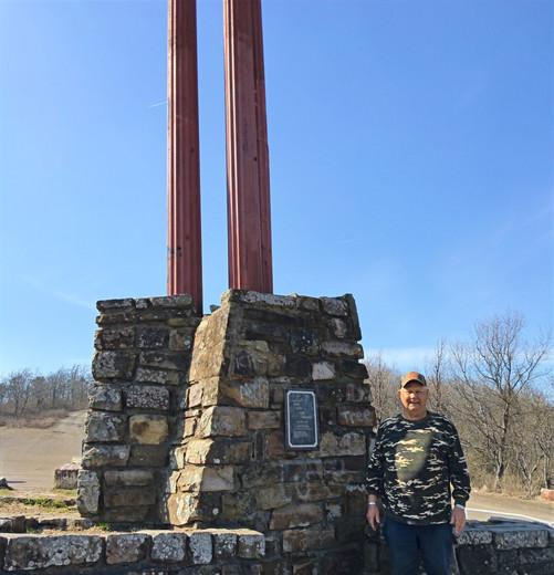 three sticks monument