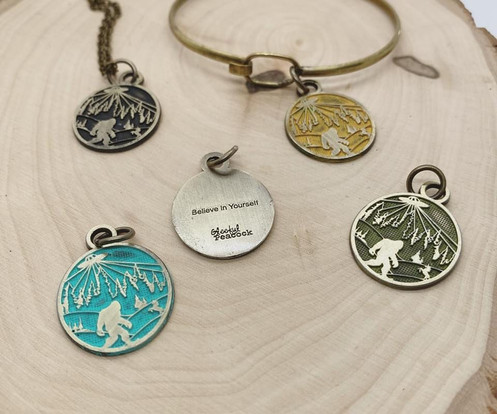 believe in yourself charms by Gleeful Peacock