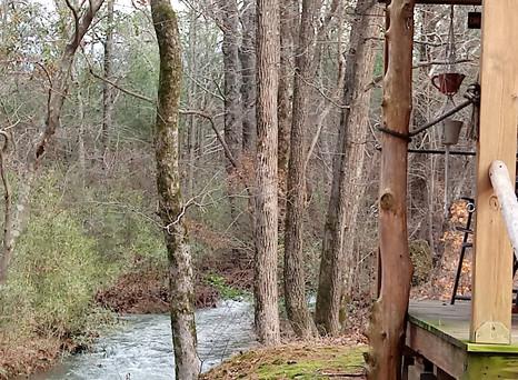 Creekside Cabin Rentals & Tent Camping @ Gibby's Biker Camp