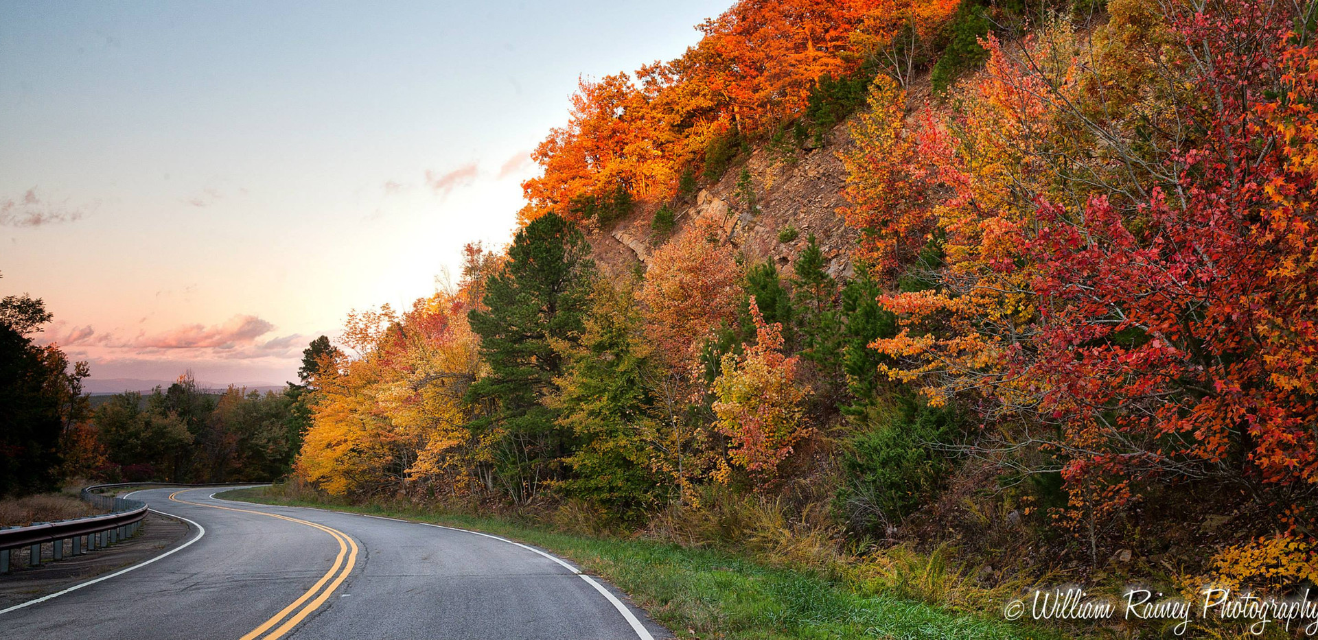 talimena scenic byway photo by William Raney Photography