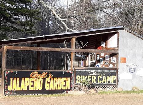 Gibby's Biker Camp & Dall's Jalapeno Garden