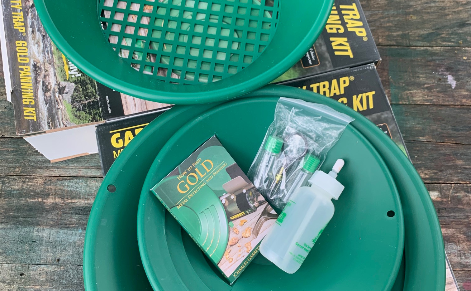 gold panning kit rentals