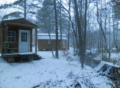 Come explore the mountains & forests in Big Cedar, OK & Stay @ Gibby n Dall's