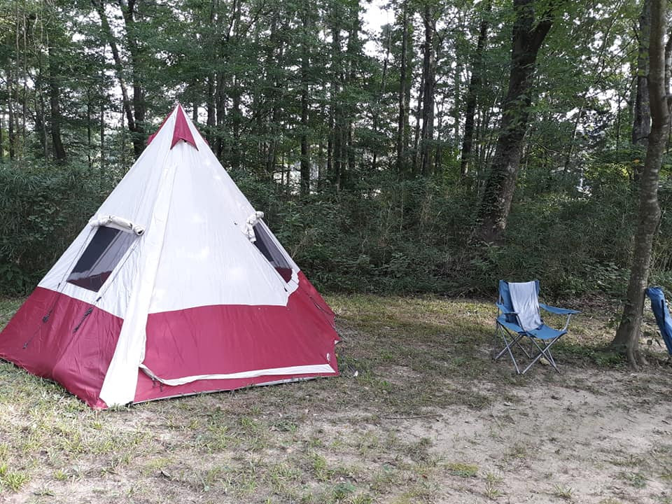 Tent Camping @ Gibby's Biker Camp & Dall's Jalapeno Garden