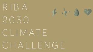 RIBA 2030 Climate Challenge