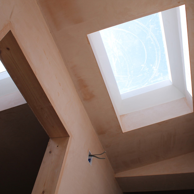 Rooflights at first floor