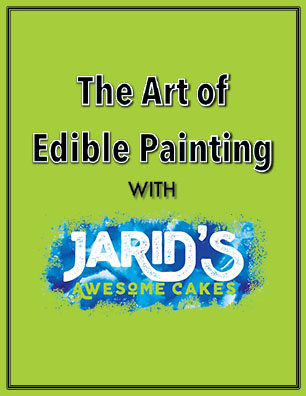 Art of Edible Painting PDF Tutorial- 35 Pages including BONUS Video Content