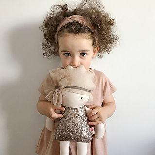 ejemplo de muñeca realizada para Maria
