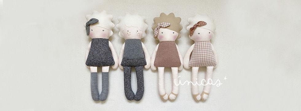 Nuevas muñecas disponibles en la tienda ahora en la web