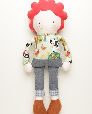 Muñeca del personaje Lucas