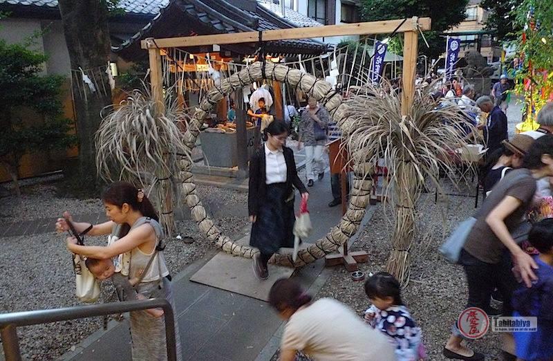Rite de O-Harae pour la fête de tanabata à Tokyo Tabitaboya boutique japonaise en ligne