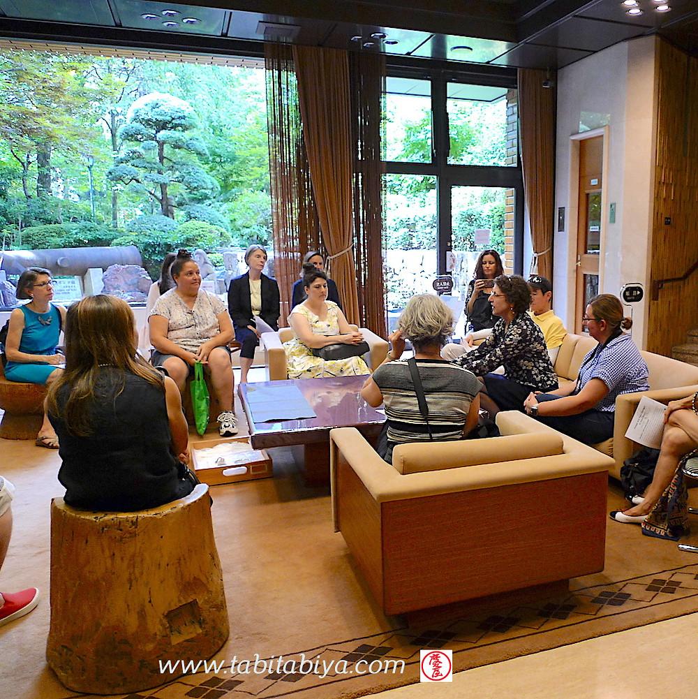 Visite du Musée Toguri avec Alice Gordenker Tokyo 2018