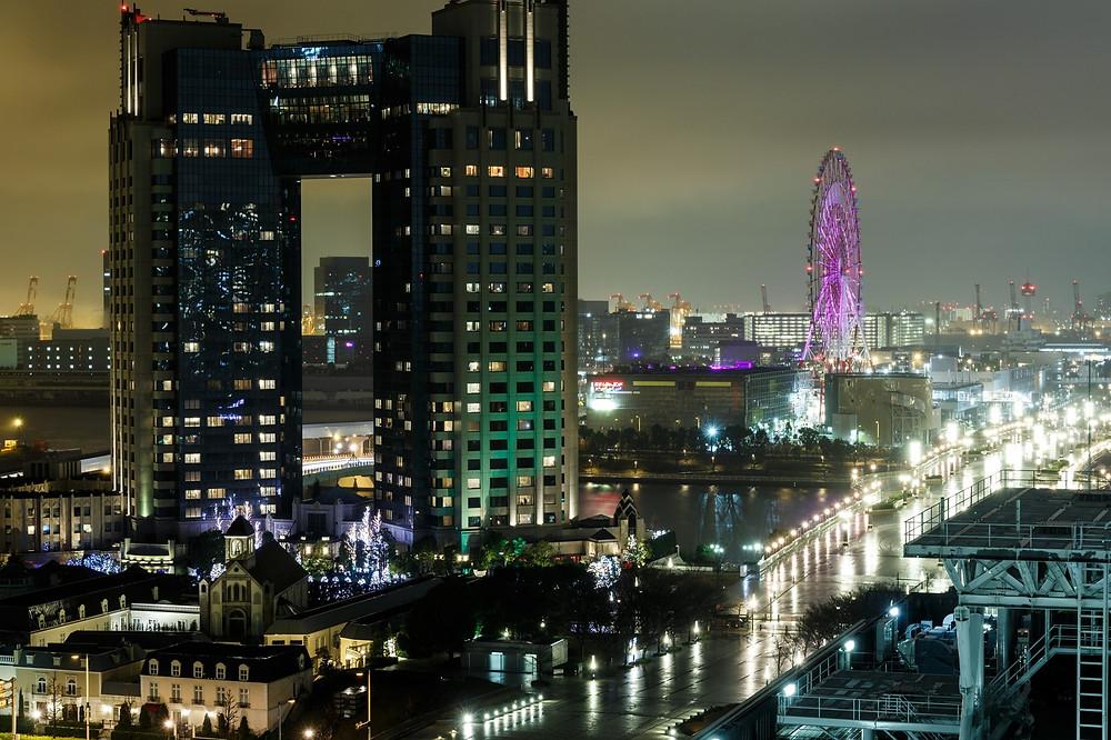 QUARTIER D'ODAIBA A TOKYO