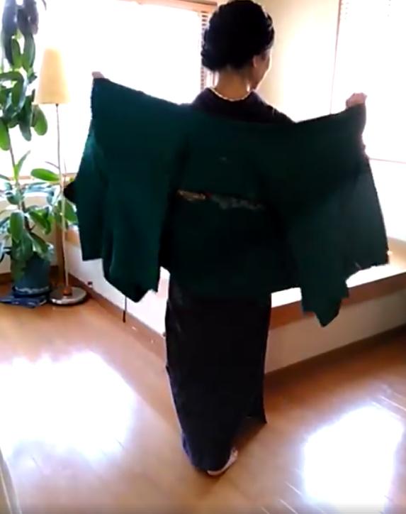 Comment enfiler son haori, veste kimono, tutoriel vidéo, Tabitabiya boutique japonaise