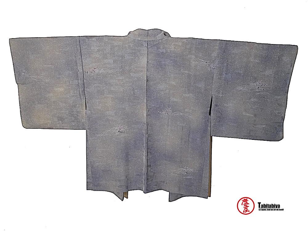 bokashibaori, haori, veste kimono, de style bokashi Tabitabiya boutique japonaise