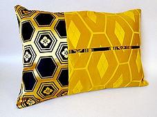 Housse de coussin faite main avec une ceinture obi japonaise vintage