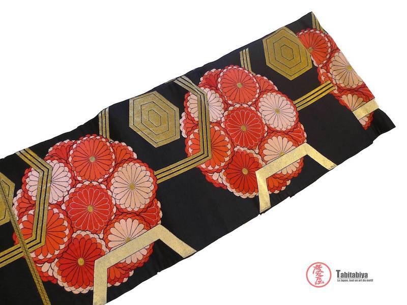 ceinture obi fukuro obi pour kimono japonais Tabitabiya boutique japonaise