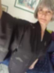 veste kimono haori femme