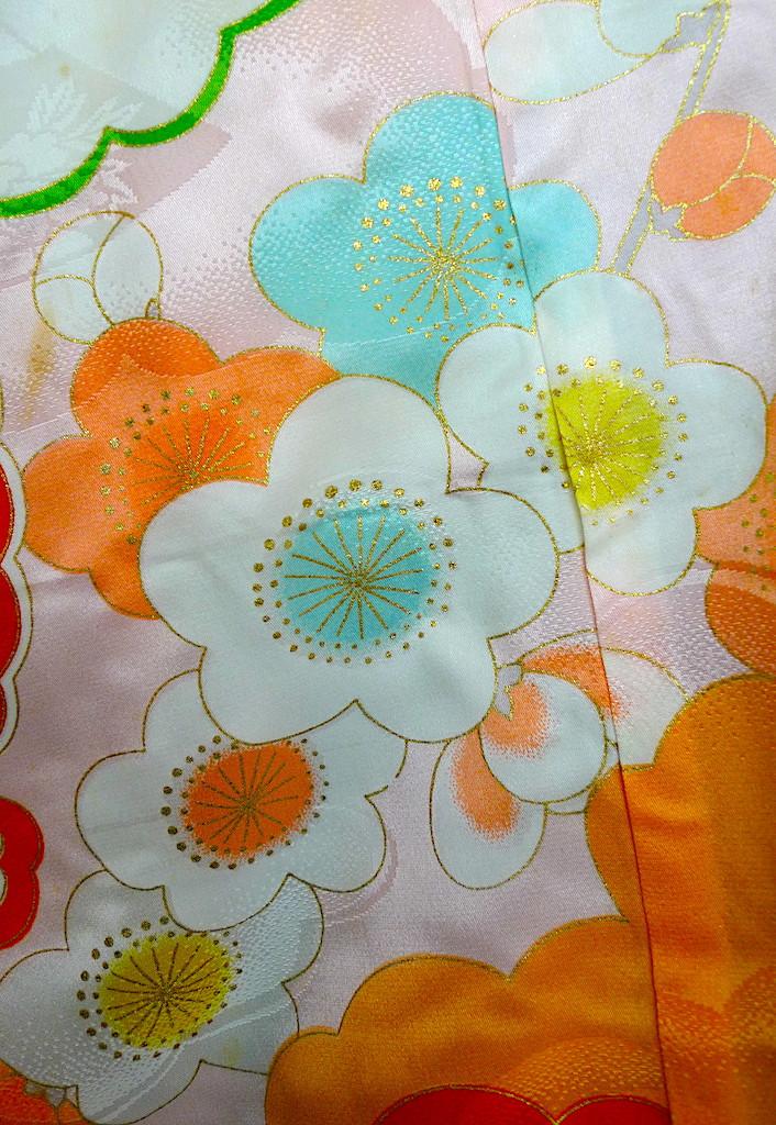 Ume-Monyo motif japonais de fleurs de prunier