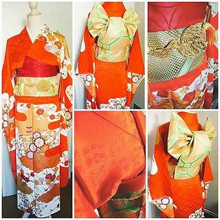 kimono japonas traditionnel furisode