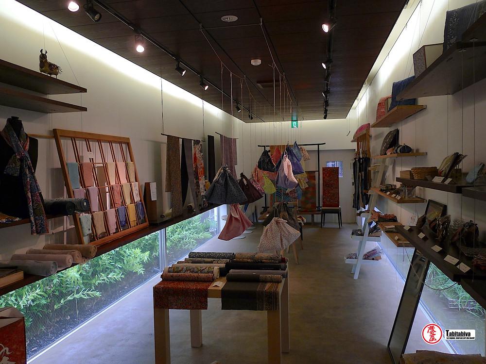 La galerie-atelier Some-no-Sato Futaba-en 染めの里二葉苑