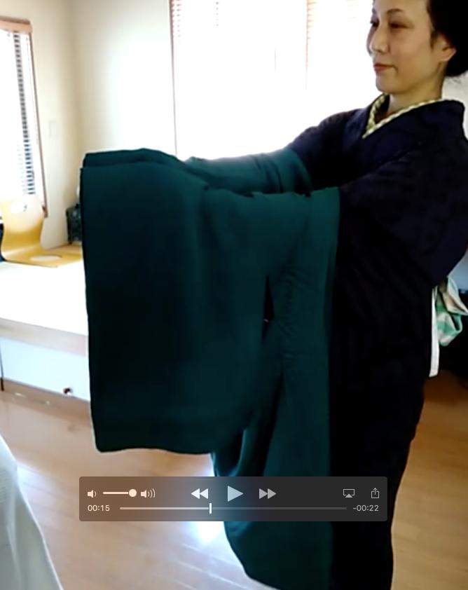 Tutoriel vidéo comment plier sa veste haori lors de ses sorties Tabitabiya boutique japonaise