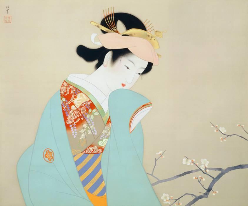 Fragrance of spring Shoen Uemura 1940