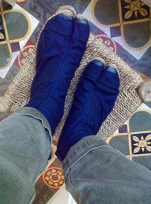 jikatai jika-tabi chaussures japonaises trditionnelles