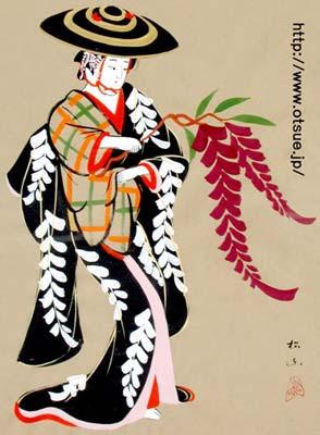 Otsu-E Fujimusume