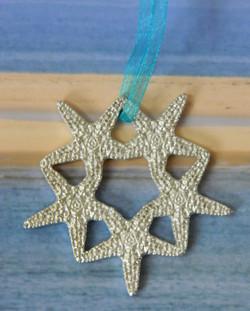 Starfish Wreath Ornament