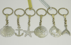 Pewter Small Keychains
