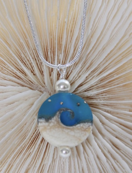 FP 915 Turquoise Wave Necklace