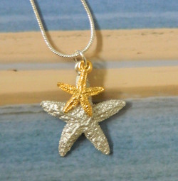 Sugar Star and Mini Gold Plate Star