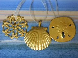 Gold Plate Ornaments