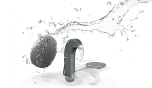 Waterproof cochlear implant for Med El