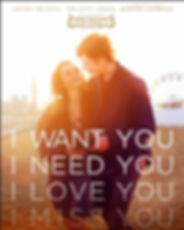 I want you, I need you , i loved you , i miss you
