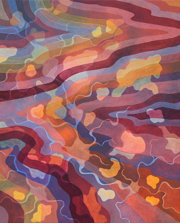 INVIGORATE, 80 x 100 cm, Oil paint on canvas, 2019, (Available)