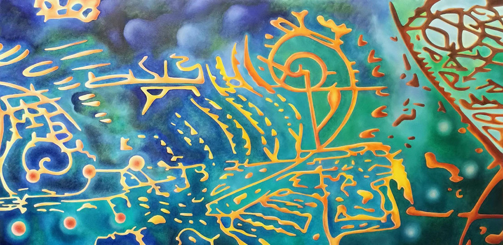 REMNANTS No.6, Oil paint on canvas, 2013