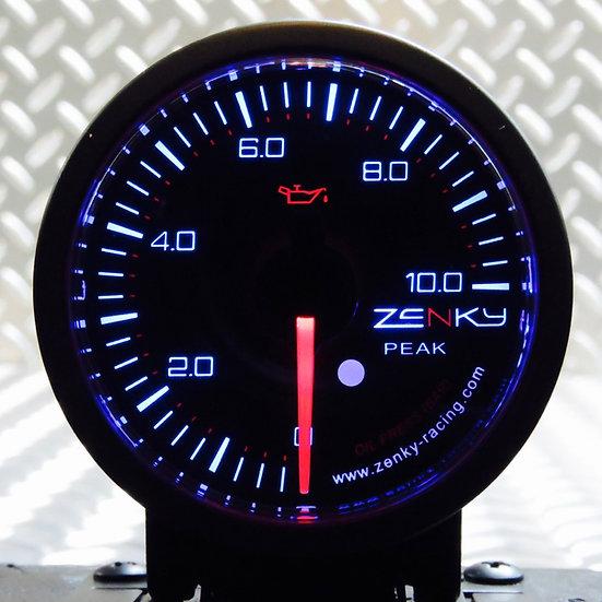 Manomètre Pression d'Huile - Série PRO 3 | 52 mm | 150 Couleurs